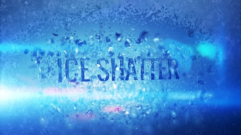 Animated Letters – Ice Shatter